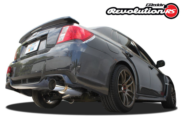 Greddy Revolution RS Exhaust 2011-2014 Subaru Impreza STI Sedan (single exit to right)