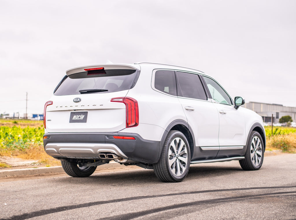 Borla S-Type Axle-Back Exhaust System 2020-up Kia Telluride V6 (3.8L)