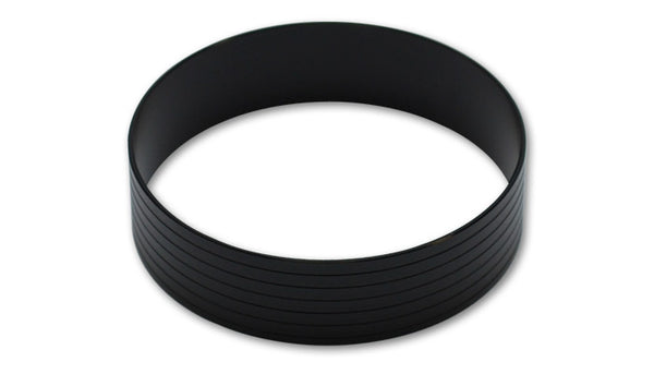 "Vibrant Performance VanJen Union Sleeve, for 2.5"" O.D. Tubing - Hard Anodized Black"