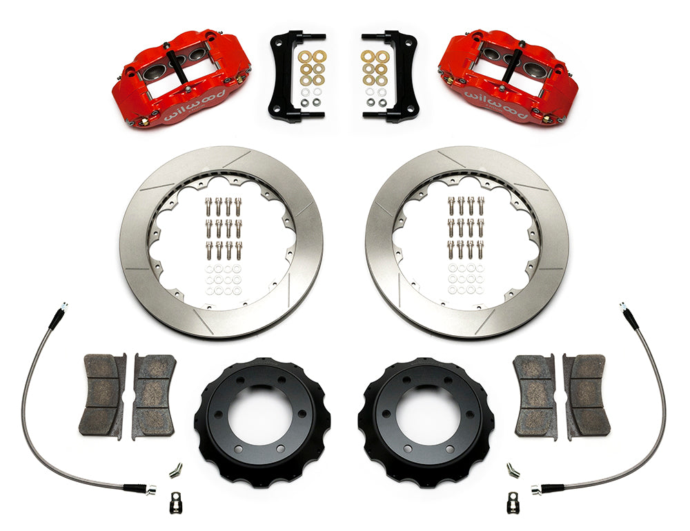 "Wilwood Forged Narrow Superlite 6R Big Brake Front Brake Kit 2005-2016 Toyota Tacoma (12.88"")"