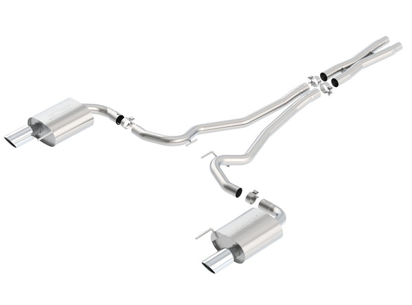 Borla S-Type Cat-Back Exhaust System 2015-2017 Ford Mustang GT 5.0L V8