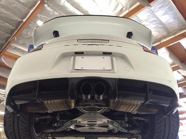 APR Carbon Fiber Rear Valance 2015-2016 Porsche GT4