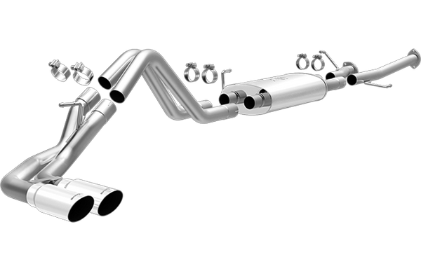 Magnaflow Cat Back Stainless Exhaust System 2014-17 Toyota Tundra 4.6L/5.7L (side exit)