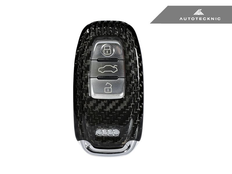 AutoTecknic Dry Carbon Key Case - Audi Vehicles 09-16