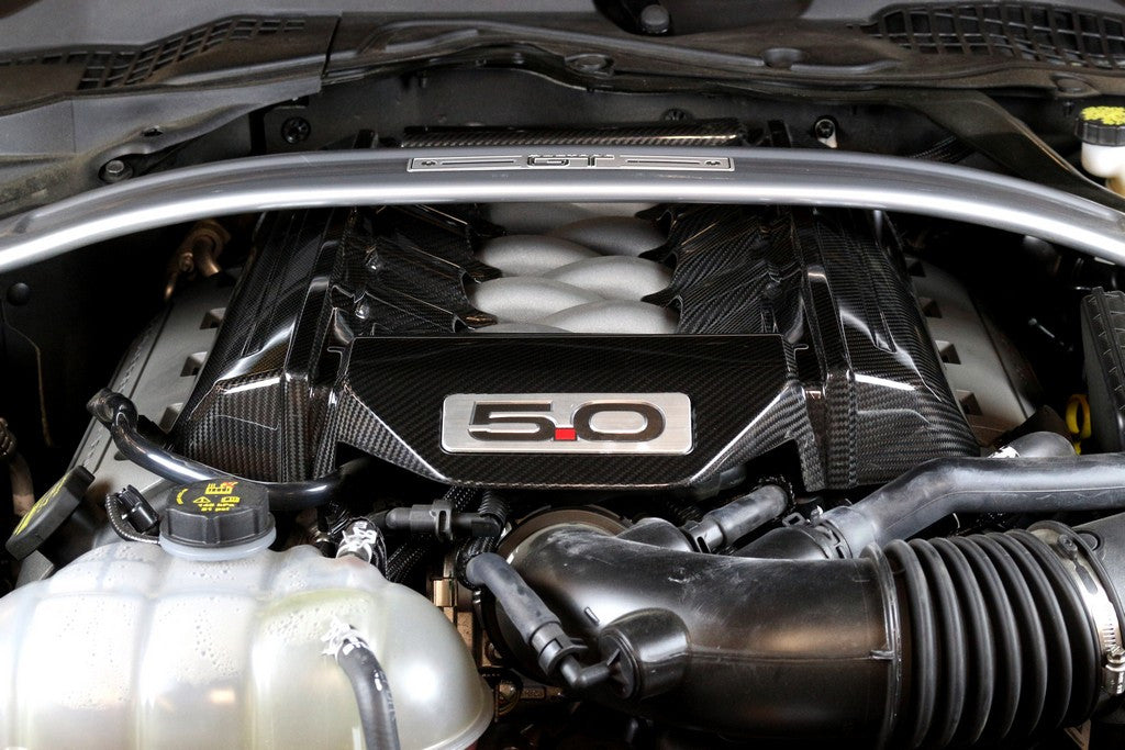 APR Carbon Fiber Engine Cover 2015-Up Ford Mustang GT (5.0L)
