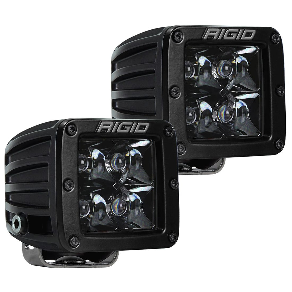 Rigid Industries D-Series Pro Spot Midnight Surface Mount (Pair)