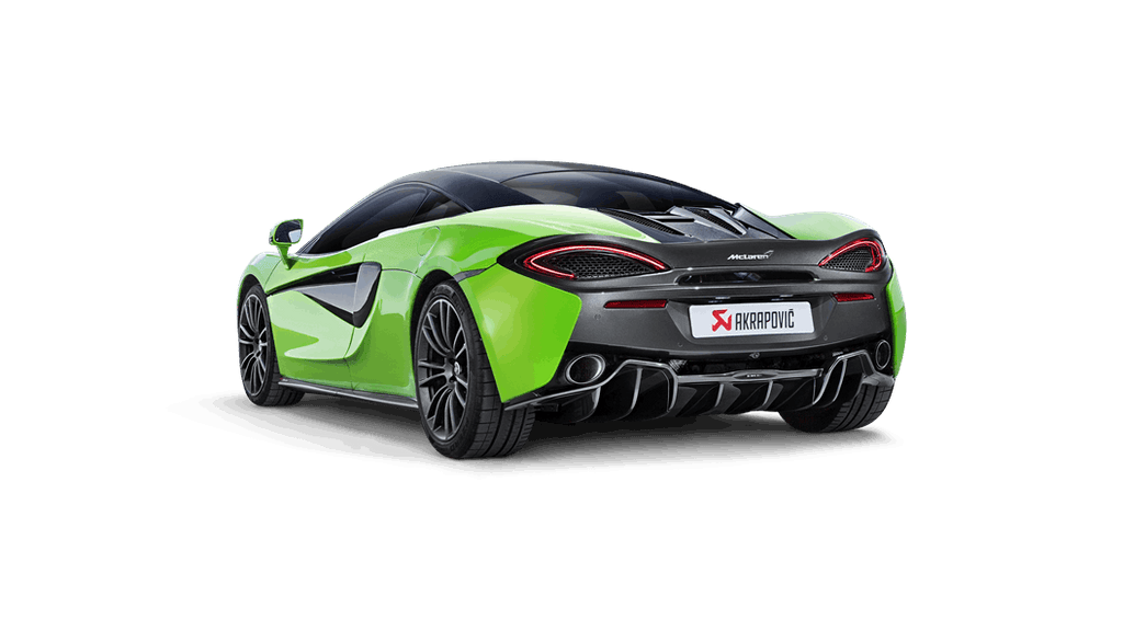 Akrapovic Slip-On Titanium Exhaust System 2016-2017 McLaren 570S/570GT (carbon tips)
