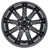 Black Rhino Oceano 18x9.5 5x150 ET12 CB 110.1 Gloss Gunblack w/Stainless Bolts Wheel