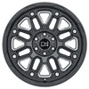 Black Rhino Hollister 18x9.5 8x165 ET-18 CB 122.1 Gloss Black w/Milled Spoke Wheel