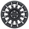 Black Rhino Mission 18x9.0 8x170 ET-18 CB 125.1 Matte Black w/Machined Tinted Spokes Wheel