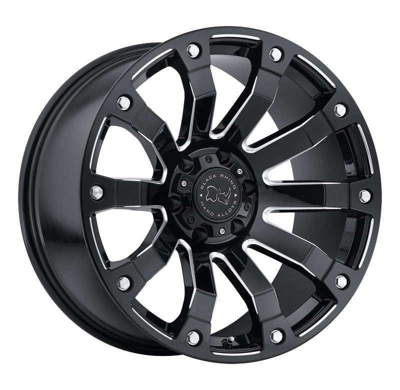 Black Rhino Selkirk 20x10.0 5x150 ET00 CB 110.1 Gloss Black Milled Wheel