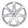 Black Rhino Mozambique 20x8.5 6x139.7 ET45 CB 112.1 Silver w/Mirror Cut Face Wheel