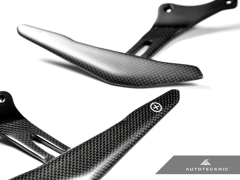 AutoTecknic Stealth Carbon Fiber Competition Shift Levers (Paddles) - Ferrari 458 Italia / Spider