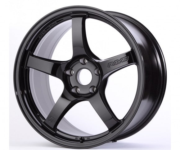 18x9.5 Gram Lights 57CR 38mm offset Gloss Black Wheel (5x120)