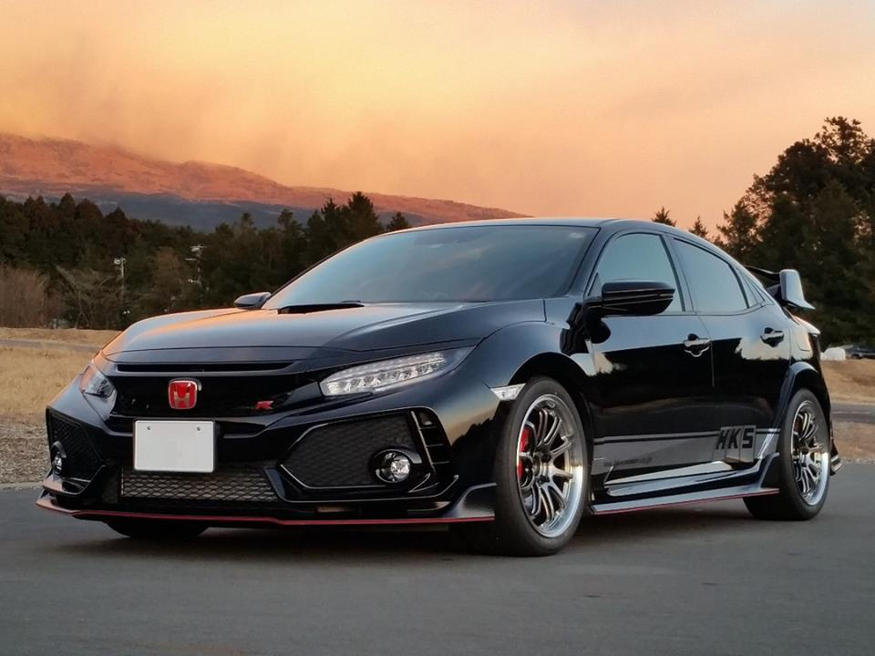HKS Hipermax IV SP 2017-2018 Honda Civic Type R (FK8) without Canceller