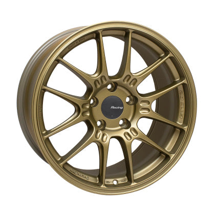 18x9.5 Enkei Racing GTC02 Honda Civic Type R FK8 Fitment Titanium Gold (5x120)