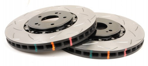 DBA USA 5000 Series T3 Two-Piece Slotted Front Brake Rotors 2013-16 Chevrolet Corvette Z51