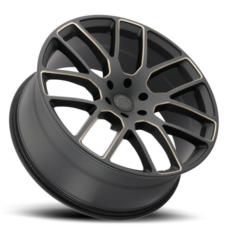 Black Rhino Kunene 20x9.0 5x127 ET30 CB 71.6 Matte Black w/Dark Tint Milled Spokes Wheel