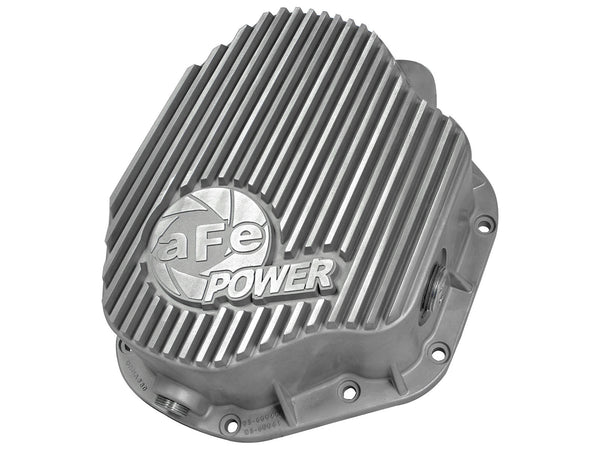 AFE Rear Differential Cover (Raw; Street Series) 1994-2002 Dodge Diesel Trucks L6-5.9L