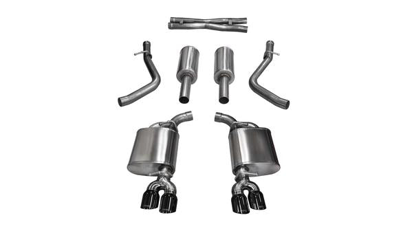 Corsa Performance Cat Back Exhaust 2017-2018 Dodge Challenger 5.7L