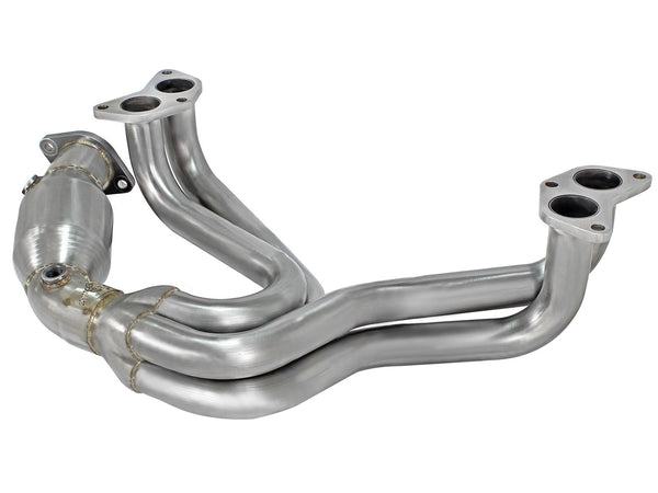 AFE Twisted Steel Long Tube Header Street Series 2013+ Scion FR-S/ Subaru BRZ/ Toyota 86 (with Cat)