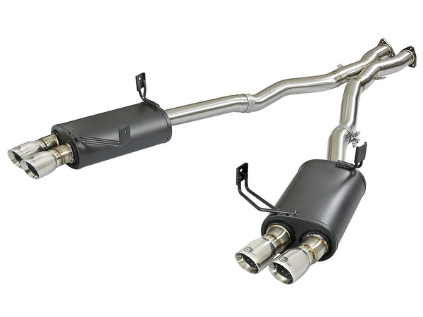 "AFE Power MACH Force-Xp Stainless Steel Cat-Back Exhaust System 2005-2008 BMW Z4 M (2.5"")"