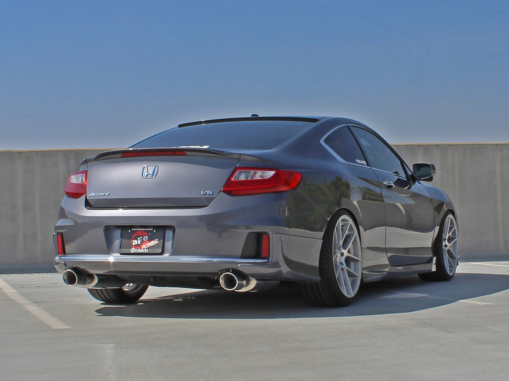 accord honda v6 exhaust ex coupe takeda cat system power 5l catback dual afe stainless steel mufflers torque hp
