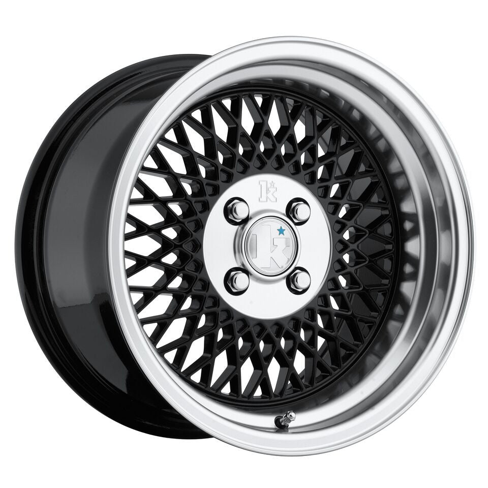 Klutch SL1 15x8.5 Black 4x100 (+17mm offset)