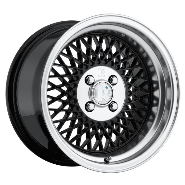 Klutch SL1 16x8.0 Black 4x100 (+15mm offset)