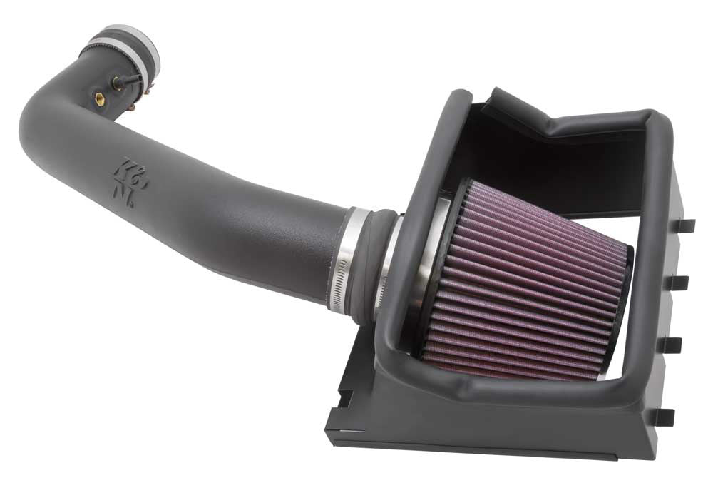 K&N Short Ram Air Intake 2011-2012 Ford F-150 6.2L V8