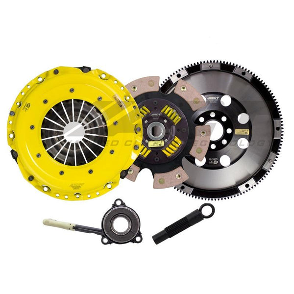 ACT Heavy Duty Race Sprung Clutch 6 Pad & Flywheel Kit 2015-2017 Volkswagen Golf R & Golf GTi