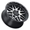 Black Rhino Alamo 18x9.0 8x180 ET06 CB 125.1 Gloss Black w/Machined Face & Stainless Bolts Wheel