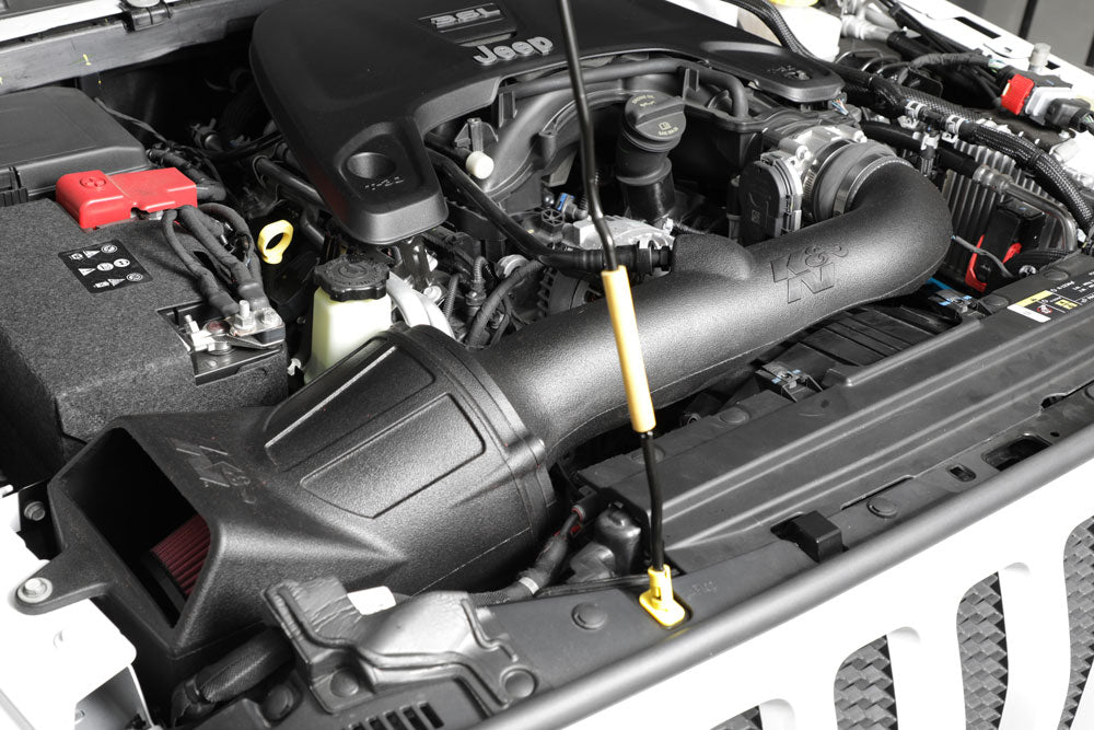 K&N Cold Air Intake 2018 Jeep Wrangler JL V6 (3.6L)