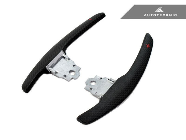 AutoTecknic Competition Steering Shift Levers Matte Carbon (Paddles) - F87 M2 | F80 M3 | F82/ F83 M4 | F10 M5 | F06/ F12/ F13 M6 | F85