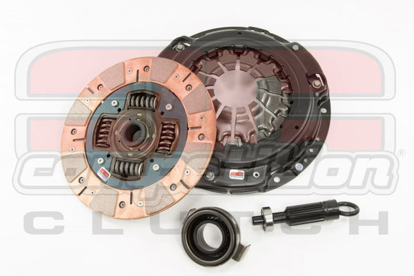 Competition Clutch Stage 3 Segmented Ceramic Clutch Kit: 2008-2010 Mitsubishi Lancer Evolution X