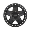 Black Rhino Crawler 18x9.5 6x139.7 ET-18 CB 112.1 Matte Black w/Silver Bolts Wheel