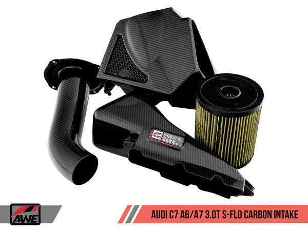 AWE Tuning S-FLO Carbon Intake 2012-2018 Audi A6/A7 (3.0T) C7