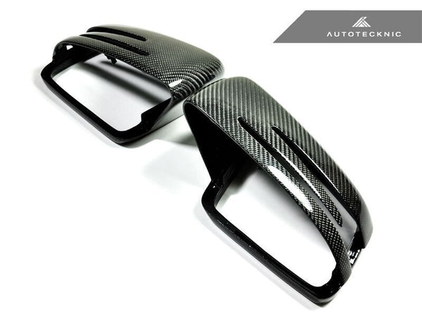 Autotecknic Replacement Carbon Fiber Mirror Covers Mercedes Benz A / B / C / E / S / CLA / CLS / CL / GLK Class