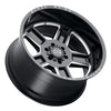 Black Rhino Canon 20x11.5 6x139.7 ET-44 CB 112.1 Gloss Black w/Milled Spokes Wheel