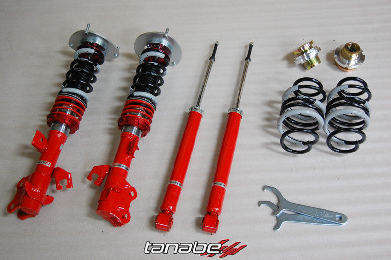 Tanabe Sustec Pro Comfort-R Coilover Kit 2010-2014 Nissan Cube / 2007-2011 Versa 5 Door