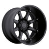 Black Rhino Glamis 18x9.0 8x170 ET12 CB 125.1 Matte Black Wheel