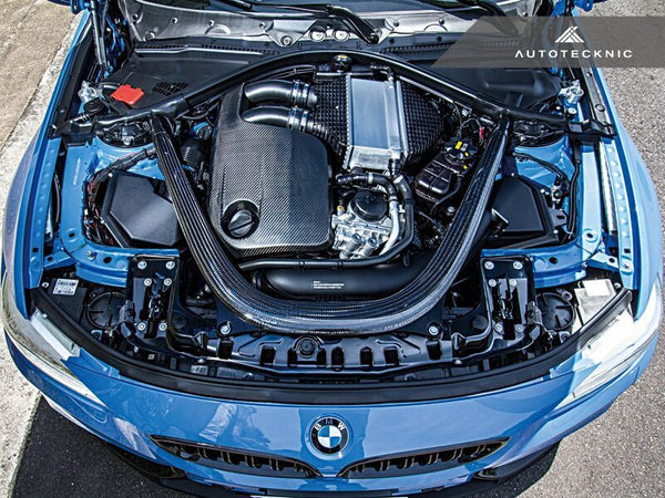 AutoTecknic Vacuumed Carbon Fiber Engine Cover BMW F80 M3 | F82 M4