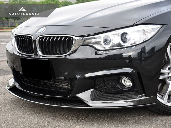 AutoTecknic Vacuumed Carbon Fiber Performante Aero Spoiler BMW F32 4 Series Coupe (MSport Only)