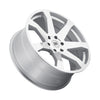 Black Rhino Mozambique 18x8.5 6x139.7 ET00 CB 112.1 Silver w/Mirror Cut Face Wheel