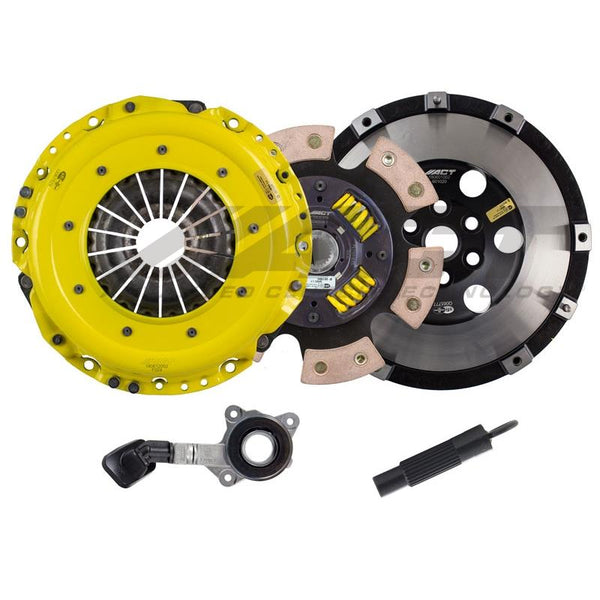ACT Heavy Duty/Race Sprung 6 Pad Clutch Kit 2016-2017 Ford Focus RS & ST (2.0T/2.3L)