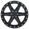 Black Rhino Henderson 18x9.0 6x139.7 ET-12 CB 112.1 Matte Black w/Brass Bolts Wheel