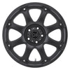 Black Rhino Glamis 18x9.0 5x150 ET12 CB 110.1 Matte Black Wheel
