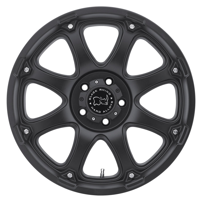 Black Rhino Glamis 18x9.0 5x127 ET-12 CB 78.1 Matte Black Wheel