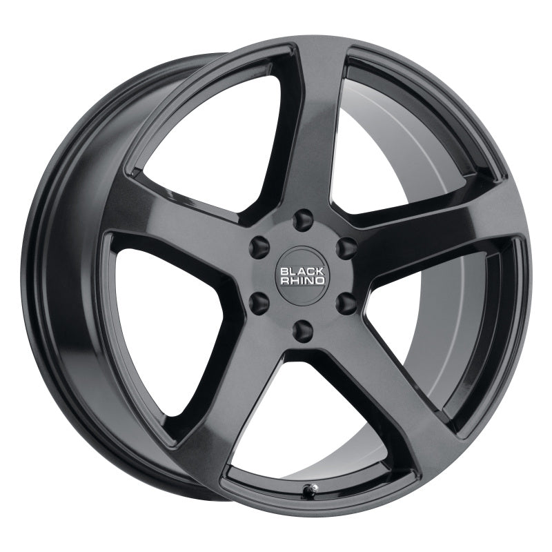 Black Rhino Faro 20x9.0 6x139.7 ET15 CB 112.1 Metallic Black Wheel