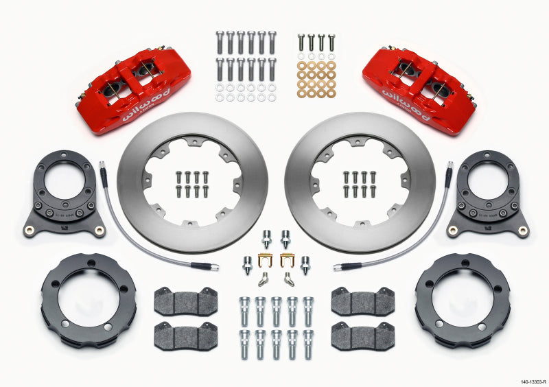 Wilwood Dynapro 6 Piston Front Disc Brake Kit 1966-1975  Ford Bronco